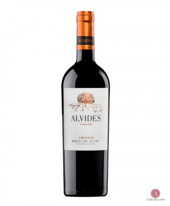 Vino Tinto Crianza. Vinos de Ribera del Duero. Botellas de vino. Tempranillo.