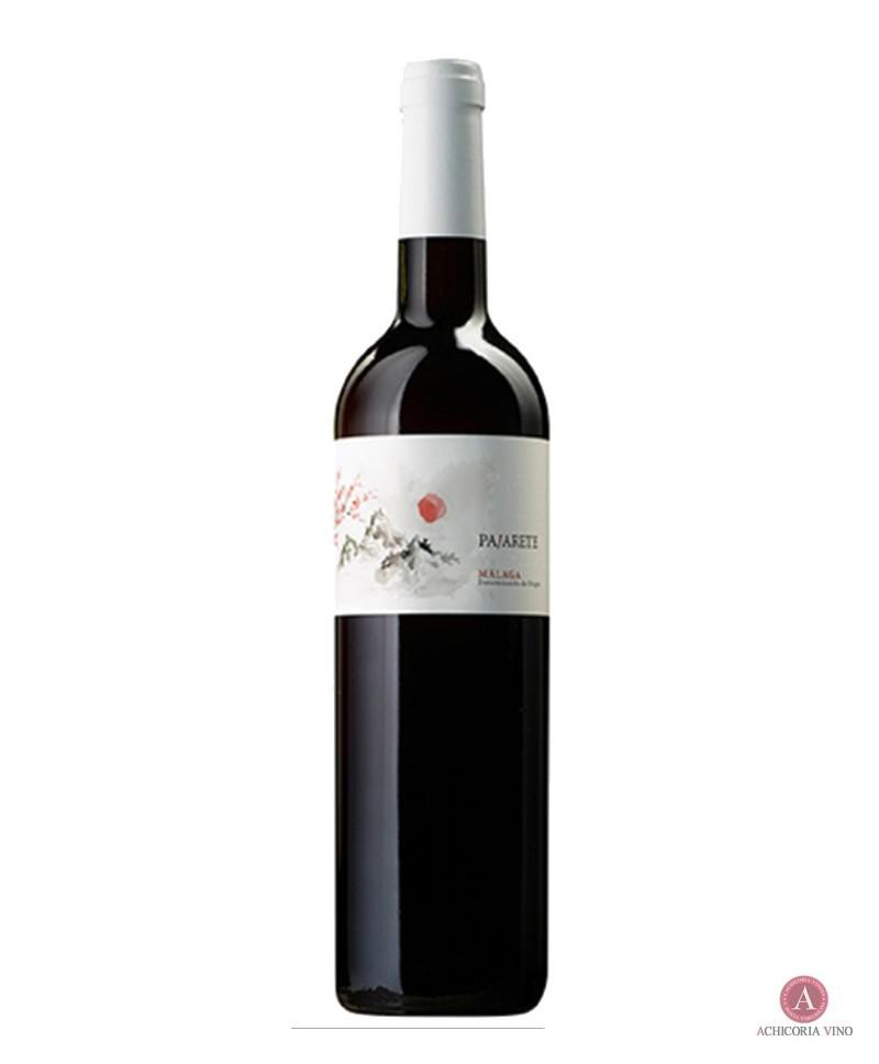 Vino tinto. Vino de Málaga. Botellas de vino. Moscatel y Pedro Ximénez.