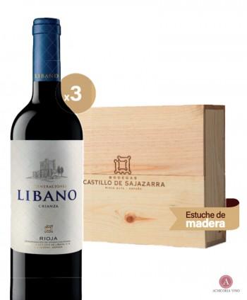 Vino tinto. Vino Rioja. Botellas de vino. Crianza. Vino para empresas. Pack de vino. Caja de madera.