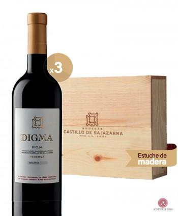 Vino tinto. Vino Rioja. Botellas de vino. Tempranillo. Vino para empresas. Pack de vino. Caja de madera.